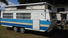 1984 18ft viscount caravan for sale Bororen Gladstone Area Preview
