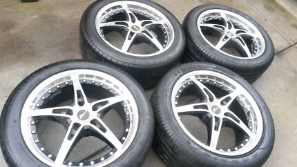 17 inch wheels and tires with 90 % 235 /45/17 Greenvale Hume Area Preview