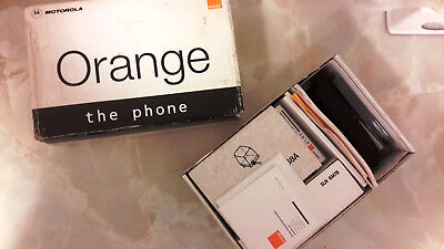 Motorola DCS1800 S4038AAB Orange The Phone (Boxed, appears NOS)