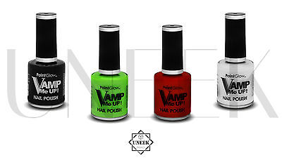 amp Me Up Nail Polish - Halloween Makeup Horror Vampire Look (Vampir Make-up Look)