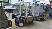 6X4 BOX TRAILER - DELUXE with 900mm HIGH GALVANIZED CAGE Narre Warren Casey Area Preview