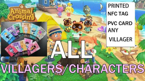 Any Amiibo Compatible with Animal Crossing New Horizons and MORE!!! You choose.