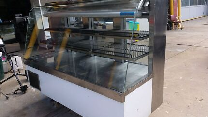 Commercial catering Curved glass front display fridge Coburg North Moreland Area Preview