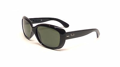 "Rayban RB4101F ""Jackie Ohh"" in Black **ALTERNATIVE FIT**"