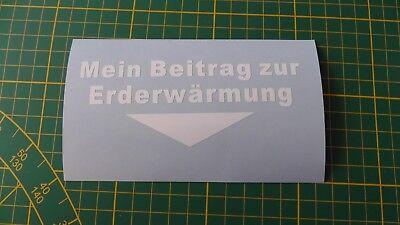 erwärmung Aufkleber Sticker neu Cool Fun GAG (Coole Aufkleber)