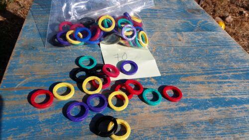 Lucky Line 70 Piece Key Identifier #16700 Assorted Colors