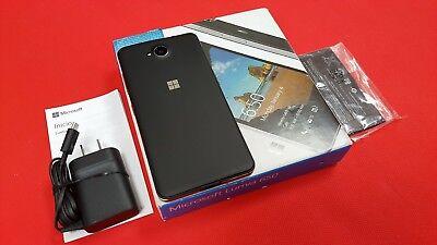 INBOX NEW Nokia Lumia 650 Windows Phone GSM GLOBAL Unlocked OEM EXTRAS. BLACK