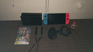 Nintendo switch and Smash Bros