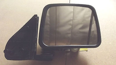 """2 ALL BLACK RIGHT HAND OUT SIDE MIRROR,NEW IN BOX, 6 -7"""""""
