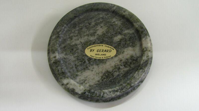 GENUINE Hand Carved Connemara Marble Coaster Guaranteed Irish