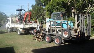 Excavator, Bobcat and Tipper Hire $90/hr Chermside Brisbane North East Preview