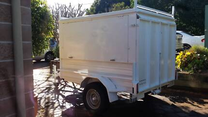 Heavy duty Trailer enclosed with Drop down ramp Lift up sides Tamborine Mountain Ipswich South Preview