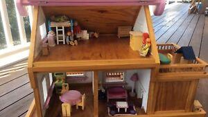 Wooden Handmade Dolls House