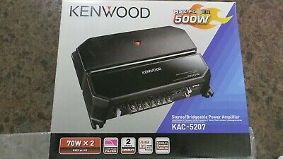 КЕНВООД КАЦ-5207 500В стерео / премостиво појачало снаге