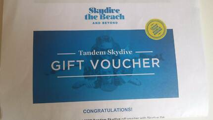 14,000 feet Tandem skydive voucher !! with Skydive the Beach Newtown Inner Sydney Preview