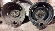 "2 x HQ holden torana steel wheels & hubs 14"" x 7""  Tascott Gosford Area Preview"