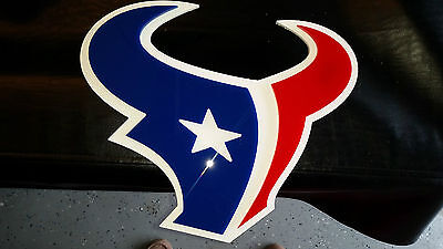 Houston Texans Wall Sign   Great For Bar  Man Cave  Fans