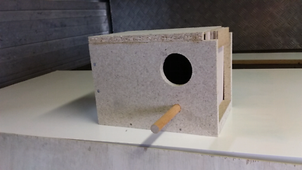 Budgie nesting boxes