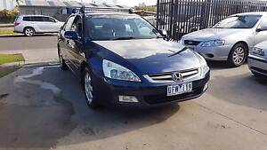 2006 Honda Accord Luxury Sedan AUTO LOW KMS Williamstown North Hobsons Bay Area Preview