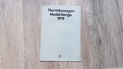 1979 VW Model Range Brochure - Volkswagen Polo, Golf, Derby, Scirocco, Passat