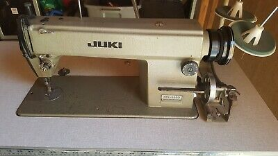 Juki Ddl-5550 Industrial Single Needle Sewing Machine Used In Great Shape