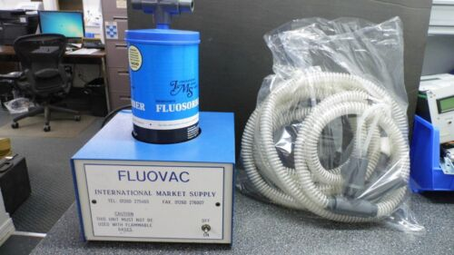 INTERNATIONAL MARKET SUPPLY FLUOVAC VETERINARY GAS TRAP ANESTHESIA UNIT