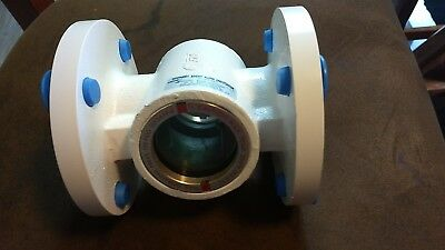 W.e. Anderson Midwest Sight Flow Indicator 2 Inch Model Sfi-360-fss-2