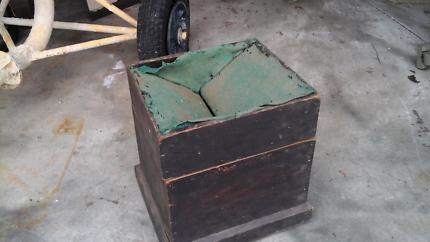 Antique voting box