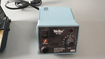 Weller Ec10c2 Esd Soldering Station With Wt-50 Thermal Soldering Tweezers