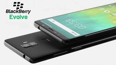 BlackBerry Evolve 5.99'' Black 64GB/4GB Dual 13MP Android 8.1 Phone By FedEx