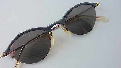 Damen Sonnenbrille Sunglasses im 50er 60er Vintage look dunkelblau Menrad size M
