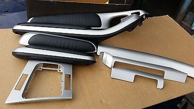 BMW E46 M3 Coupe Interior DASH Trim Set Door Handles in SILVER 330 318 325