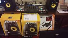 KRK RP5 G3 + RCA cable + Laptop Stand for DJ + 100g of music Melbourne CBD Melbourne City Preview