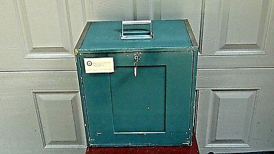 Mid Century Dental Travel 6 Drawers Cabinet Full With A Instruments And Suply