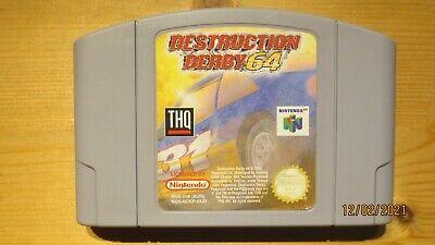 Destruction Derby 64 for Nintendo 64 N64. Cart Only. Pal