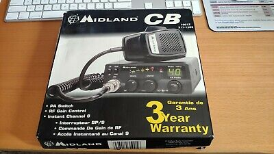 Midland Model 1001Z 40-channel CB Radio Transceiver