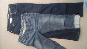 2 pairs size 10 jeans Grange Charles Sturt Area Preview