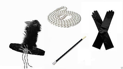 Great Gatsby 1920's Fancy Dress Accessories Buy one or more items BRAND NEW - Buy Fancy Dress Costumes
