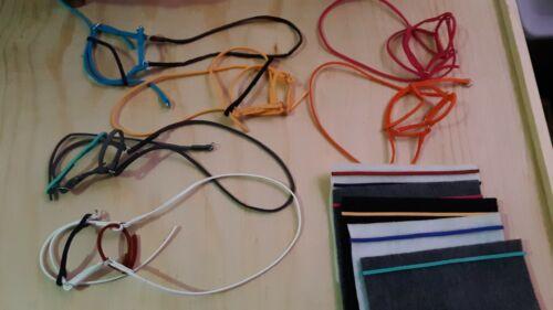 Lot of 6 handmade bridles for breyer horse read description breyer tack bridle