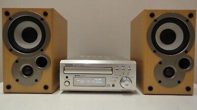 Denon UD-M30 HiFi Amp CD Tuner Denon Mission Speakers+ Remote Control