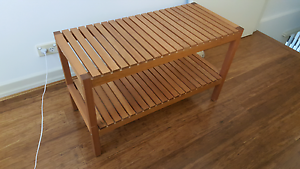 Timber Shelf / Footrack / seat Mortlake Canada Bay Area Preview