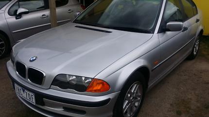 AUTO BMW 318i SEDAN 109, 000KLM REG 4/18 RWC