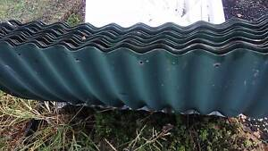 36 used Bullnose corrugated iron sheets in heritage green East Kurrajong Hawkesbury Area Preview