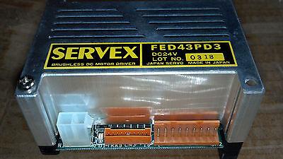 Japan Servo Servex Fed Series Brushless 24v Dc Motor Driver Model Fed43pd3