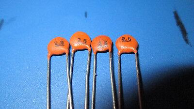 200 X - 2.5pf Ceramic Disc Capacitor