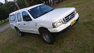 Ford courier 2004 turbo diesel canopy dual cab twin cab Wickham Newcastle Area Preview