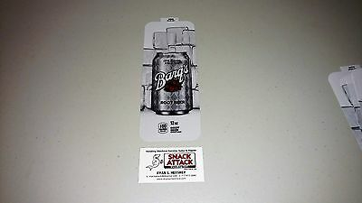 Royal Vendors Soda Vending Machine Barqs Root Beer 12oz Can Vend Label