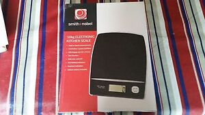 Smith+Nobel 10 kg Electronic Kitchen Scale Claremont Glenorchy Area Preview