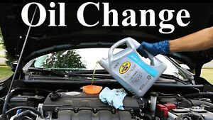 Oil changes $15 booking for July.