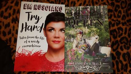 Womens Book Bundle - great titles, Constance Hall book signed!!!!